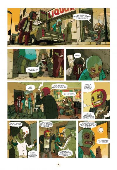Page 6 luchadores five tome 1 - la cité des hommes brisés