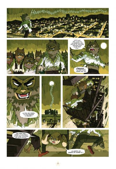 Page 7 luchadores five tome 1 - la cité des hommes brisés