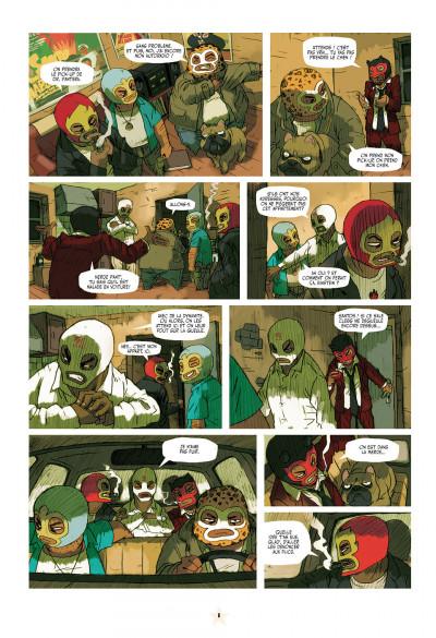 Page 8 luchadores five tome 1 - la cité des hommes brisés