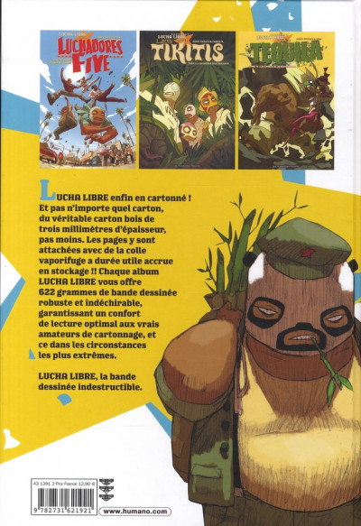 Dos téquila tome 1 - les épines de la destruction
