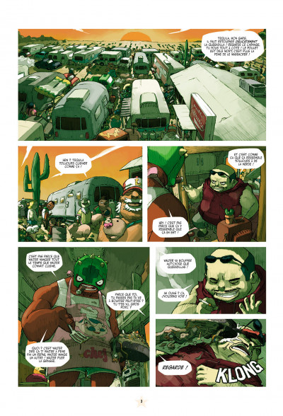 Page 3 téquila tome 1 - les épines de la destruction