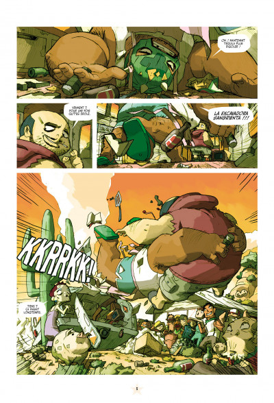 Page 5 téquila tome 1 - les épines de la destruction