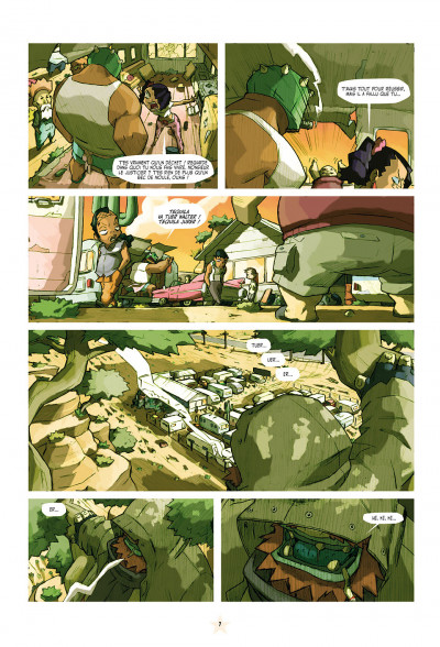 Page 7 téquila tome 1 - les épines de la destruction