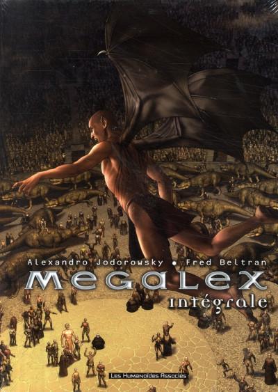 Couverture megalex - coffret tome 1 à tome 3