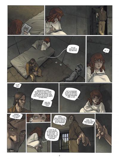 Page 8 le manoir des murmures tome 2 - demian
