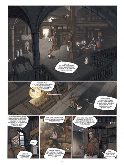 Page 9 le manoir des murmures tome 2 - demian