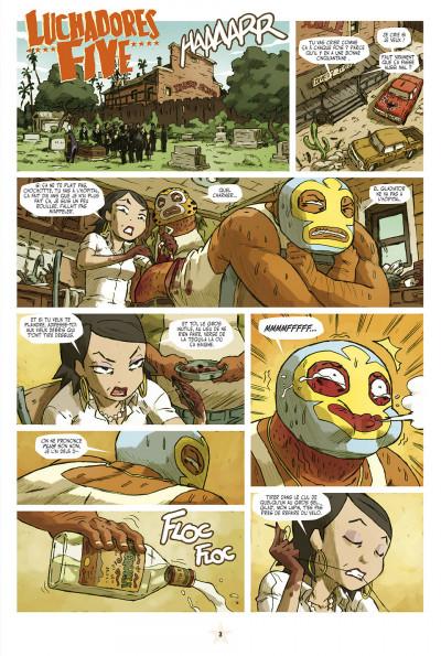Page 3 lucha libre tome 9 - catchéchisme