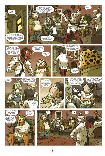 Page 5 lucha libre tome 9 - catchéchisme