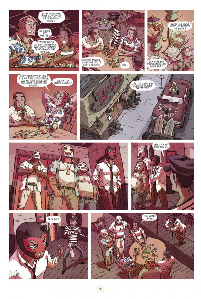 Page 7 lucha libre tome 9 - catchéchisme