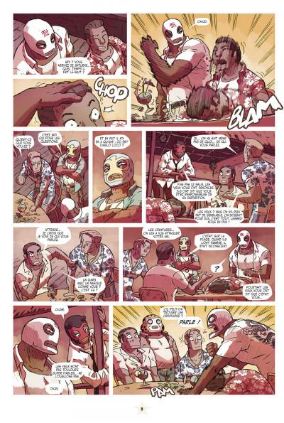 Page 8 lucha libre tome 9 - catchéchisme