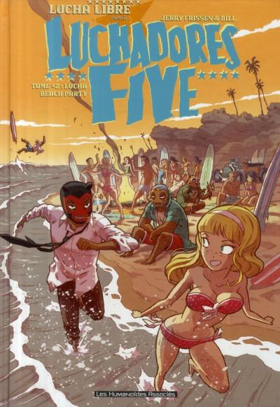 image de luchadores five tome 2 - lucha beach party