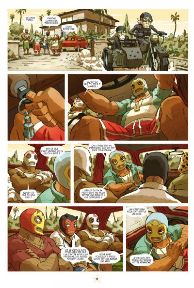 Page 1 lucha libre tome 10 - surfin'usa