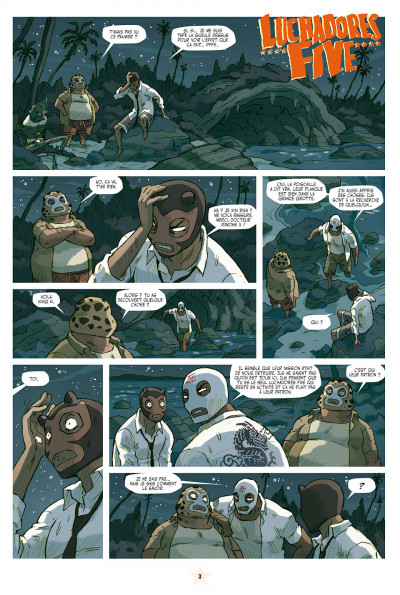Page 3 lucha libre tome 10 - surfin'usa