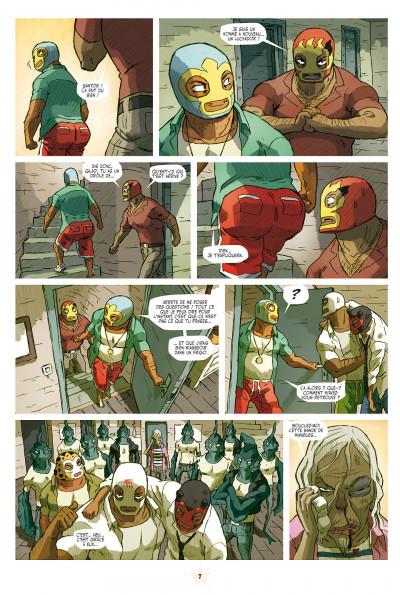 Page 7 lucha libre tome 10 - surfin'usa