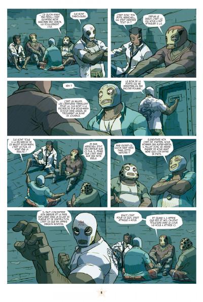 Page 8 lucha libre tome 10 - surfin'usa