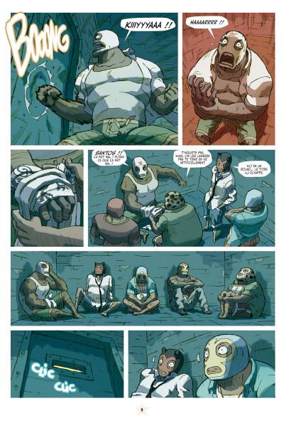Page 9 lucha libre tome 10 - surfin'usa