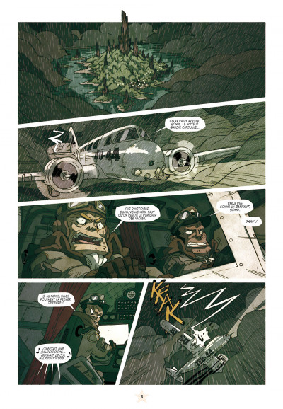 Page 3 les tikitis tome 2 - l'aventure de l'inventif