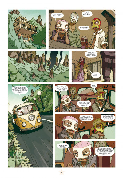 Page 6 les tikitis tome 2 - l'aventure de l'inventif