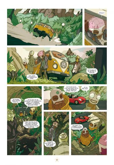 Page 7 les tikitis tome 2 - l'aventure de l'inventif
