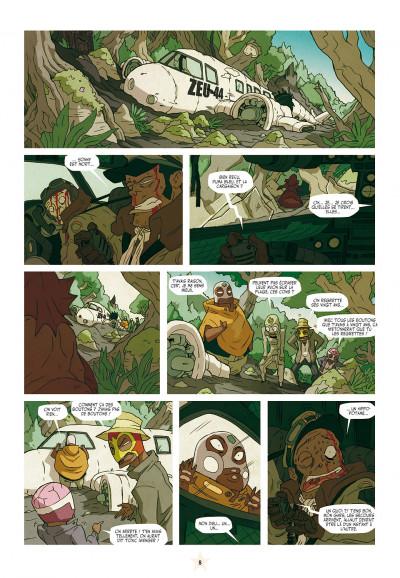 Page 8 les tikitis tome 2 - l'aventure de l'inventif