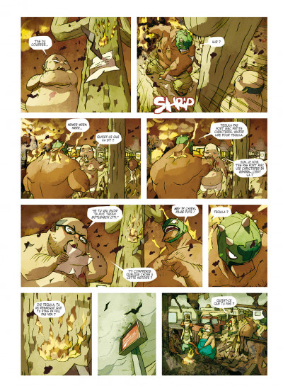 Page 9 tequila tome 2 - tant pis pour le sud