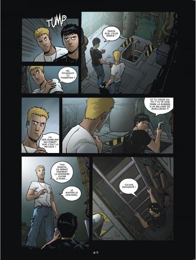 Page 5 sanctuaire redux tome 1 - l'appel des abysses