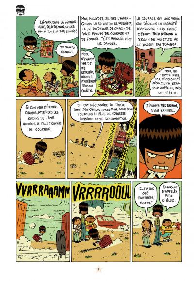 Page 3 les luchadoritos tome 1 - un mental de gravier