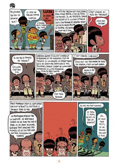 Page 4 les luchadoritos tome 1 - un mental de gravier
