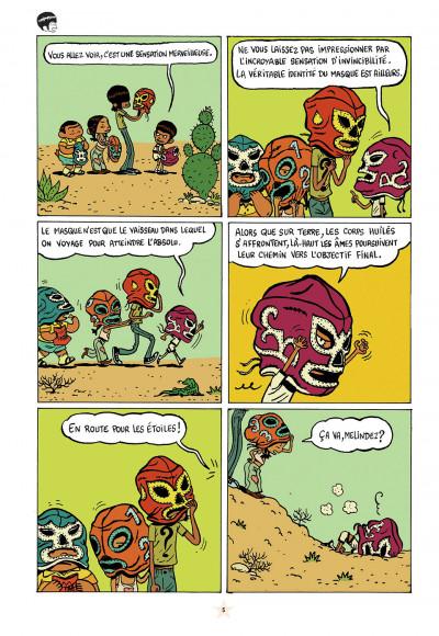 Page 5 les luchadoritos tome 1 - un mental de gravier
