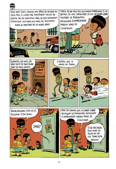 Page 6 les luchadoritos tome 1 - un mental de gravier
