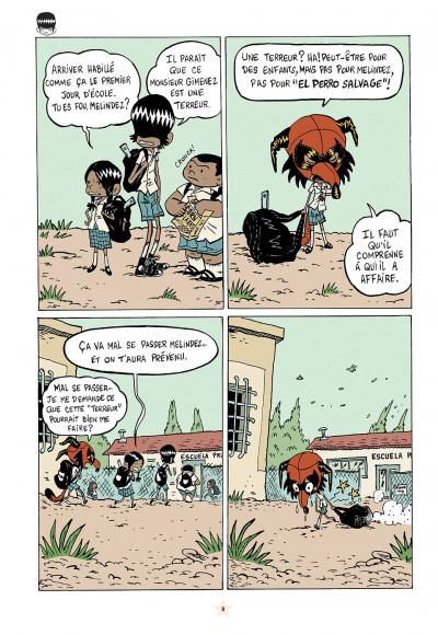 Page 9 les luchadoritos tome 1 - un mental de gravier