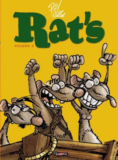image de rat's - intégrale tome 3 : tome 7 à tome 9