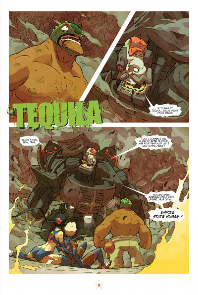 Page 3 lucha libre tome 11 - tequila tue !! tue !!