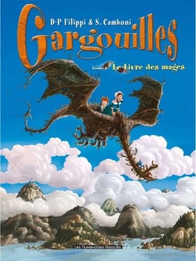 Couverture gargouilles tome 6 - le livre des mages