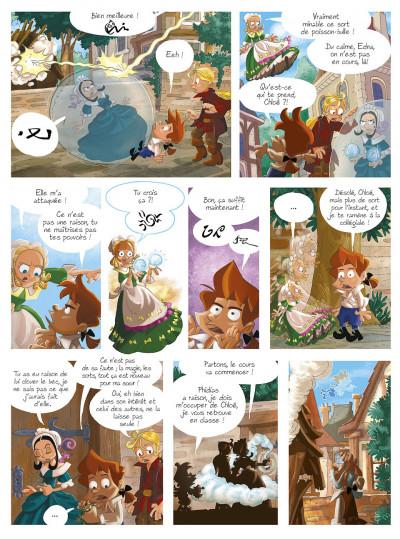 Page 1 gargouilles tome 6 - le livre des mages