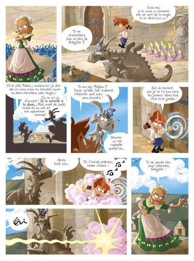 Page 2 gargouilles tome 6 - le livre des mages