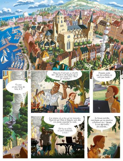 Page 5 gargouilles tome 6 - le livre des mages