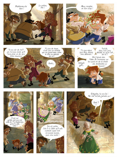 Page 7 gargouilles tome 6 - le livre des mages