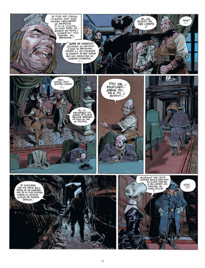 Page 9 bouncer tome 7 - coeur double