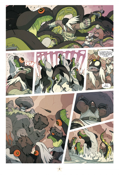 Page 5 lucha libre tome 12 - travailler équitable pour tous