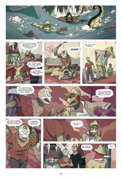 Page 6 lucha libre tome 12 - travailler équitable pour tous