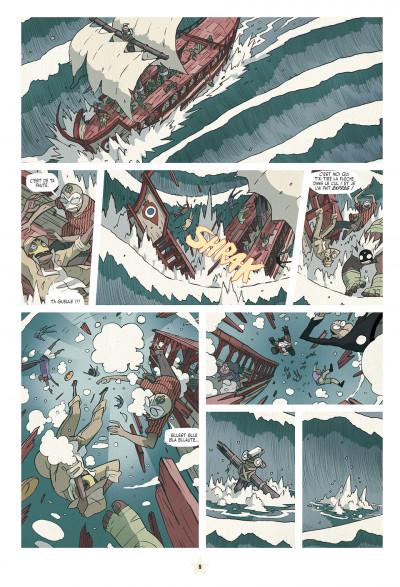 Page 8 lucha libre tome 12 - travailler équitable pour tous