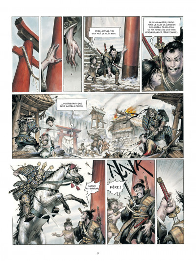Page 0 La légende des nuées écarlates tome 3