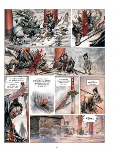 Page 1 La légende des nuées écarlates tome 3