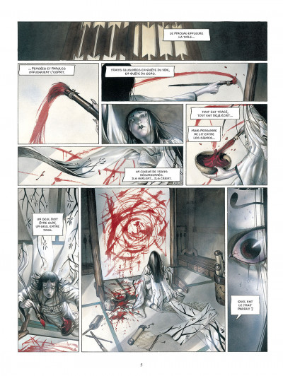 Page 6 La légende des nuées écarlates tome 3
