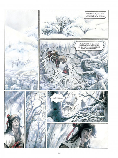 Page 7 La légende des nuées écarlates tome 3