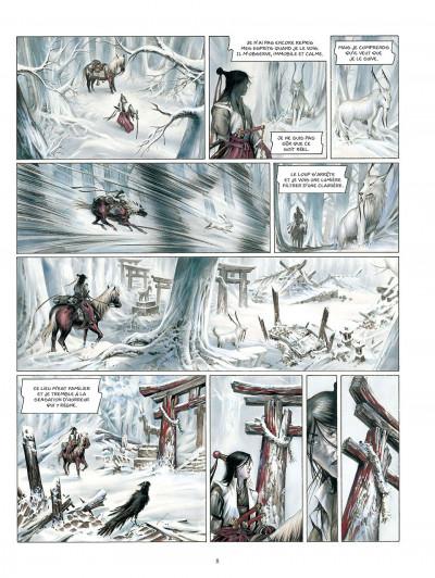 Page 9 La légende des nuées écarlates tome 3