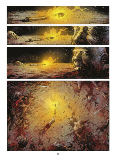 Page 0 crusades tome 1 - le spectre aux yeux d'argent