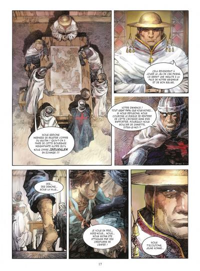 Page 6 crusades tome 1 - le spectre aux yeux d'argent