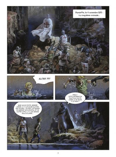 Page 2 crusades tome 1 - le spectre aux yeux d'argent